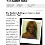 The Closet Coach, November 2011