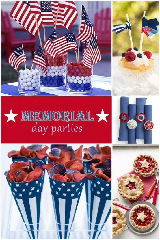 Sweet Red, White and Blue Inspiration