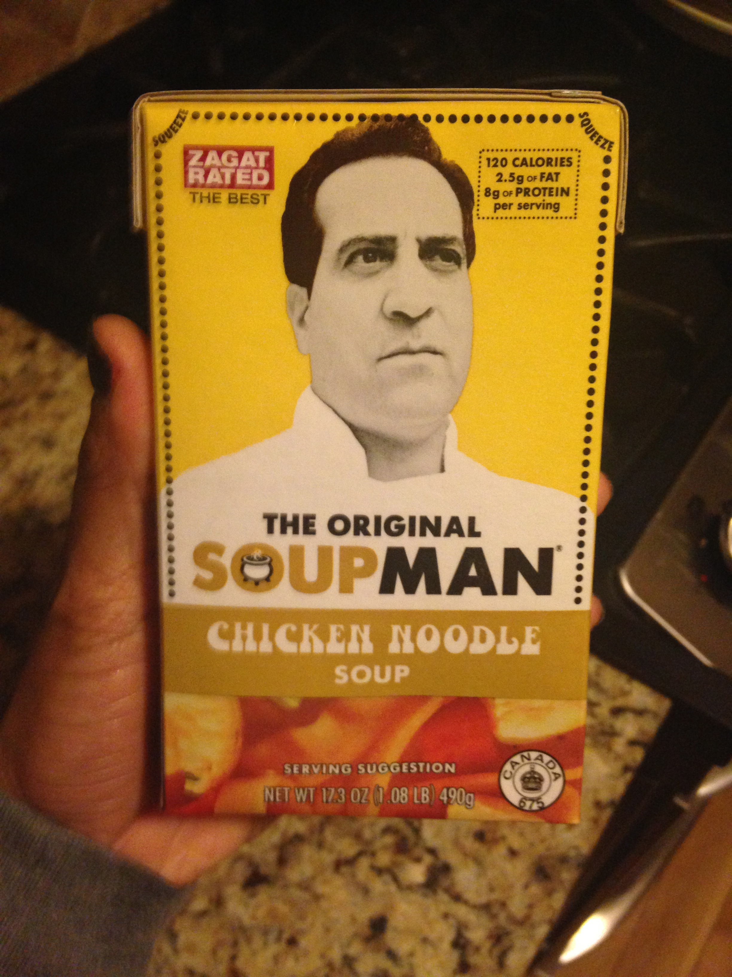 Original Soup Man review