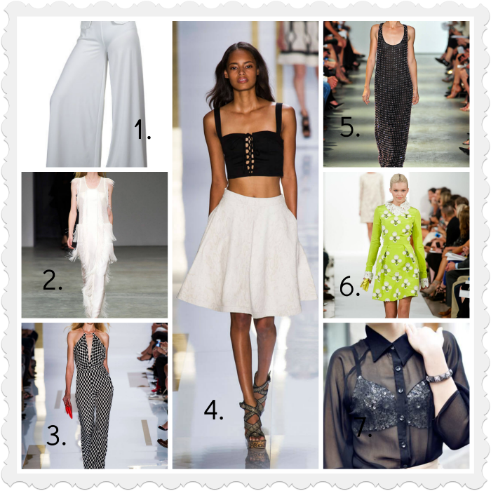 2014 Spring Fashion Trends