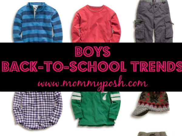 back to school trends for boys