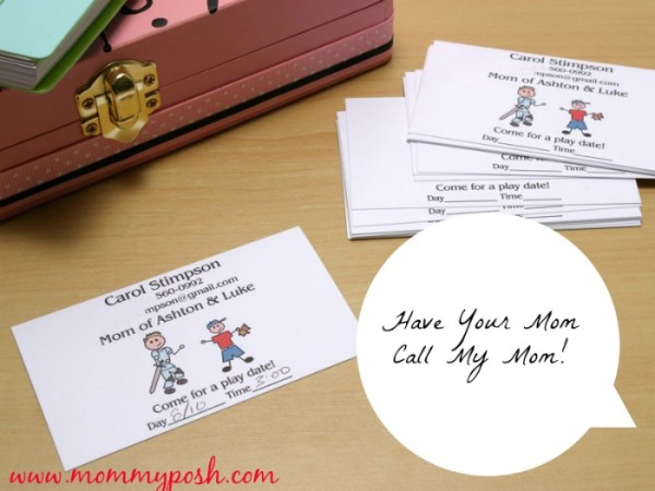 playdate cards