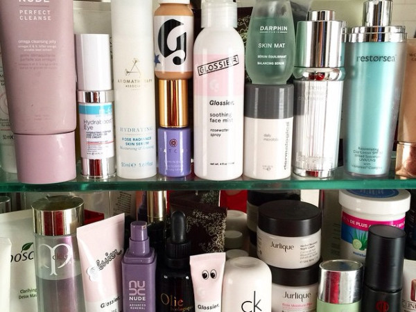 beauty cabinet must haves
