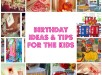 birthday tips for the kids