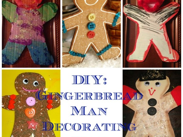 gingerbread man project