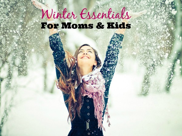 winter essentials for moms