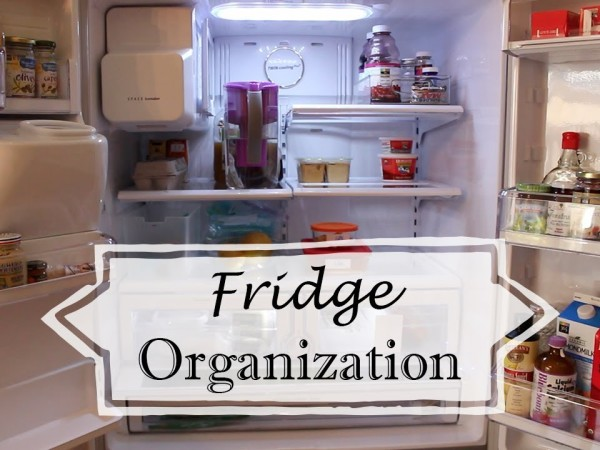 organize fridge
