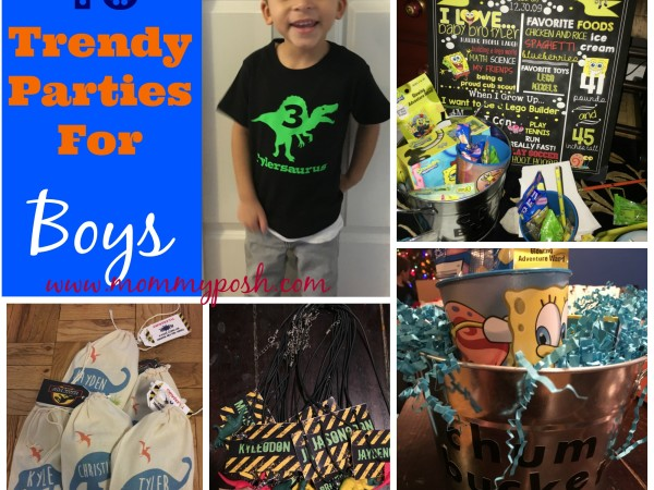 10 boys birthdayparties