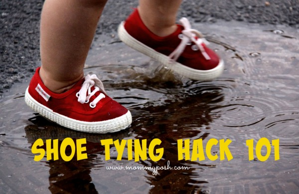 tying shoes hack