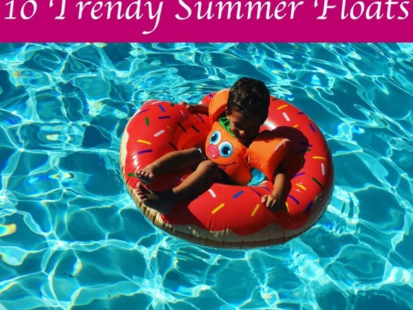 trendy pool floats