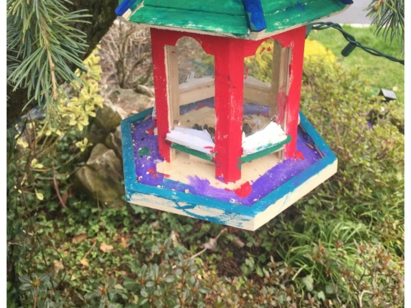 BIRD FEEDER DIY