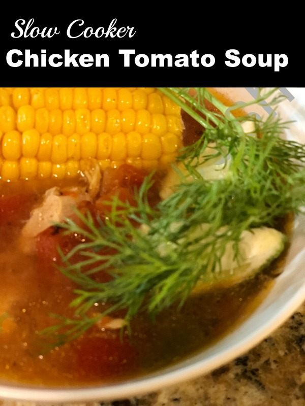 Slow Cooker Chicken Tomato Soup Recipe