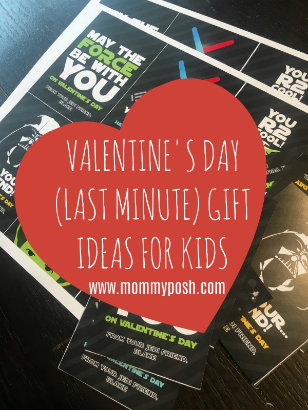 Valentine's Day (Last Minute!) Ideas For Kids + FREE Printables