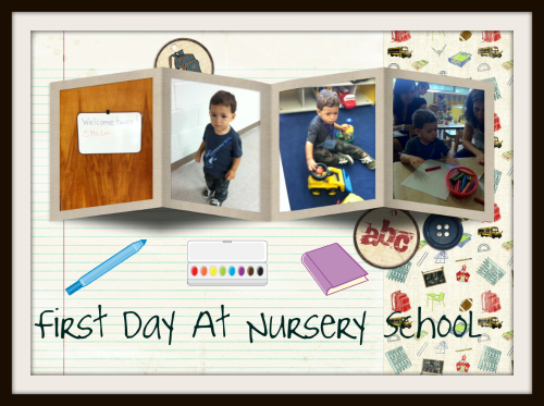 This Proud Mama Just Couldn T Wait To Share With You My Son S First Day At Nursery School Its A Drop Off Program For Two Hours Twice Week