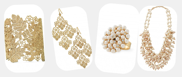 Chantilly Lace Chandelier Earrings 49 3 Vintage Cer Ring 23 40 Out Of Stock 4 Sofia Pearl Bib Necklace 118