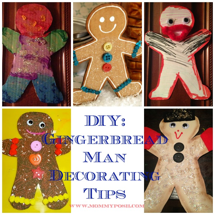 Diy How To Decorate Your Gingerbread Man Template Mommyposh